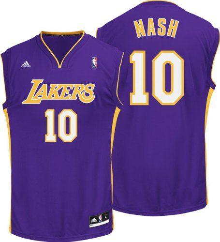 5b31ee8e7c11 Steve Nash Los Angeles Lakers Replica Jerseys