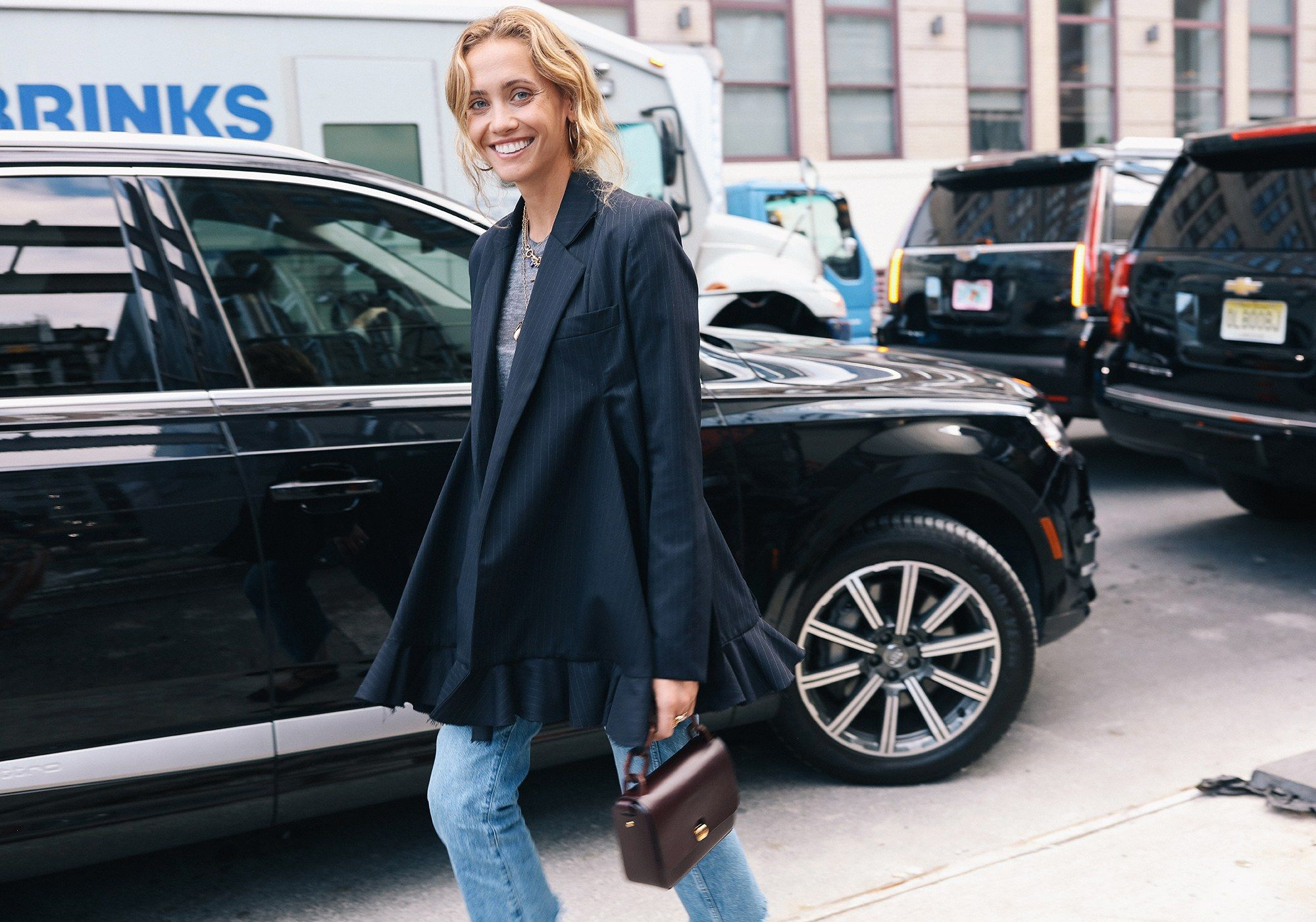 The Best Street Style From New York Fashion Week Spring '18    Laurel Pantin  Photographed by Phil Oh    fashion