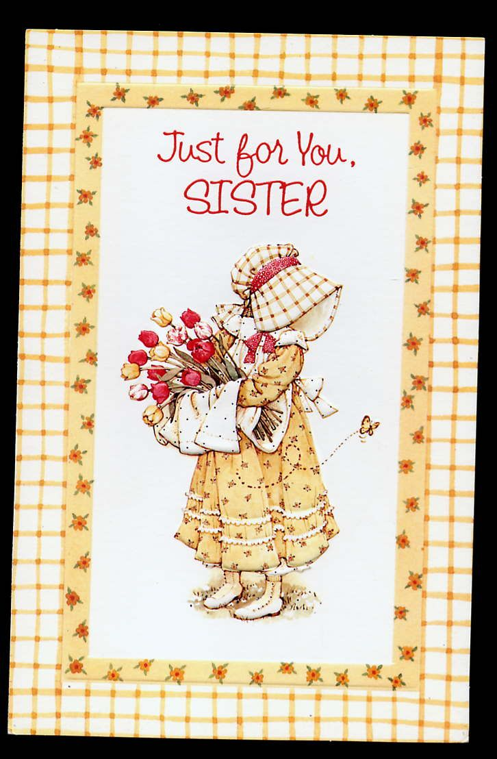 Holly Hobbie Card Sister Sarah Kay Pinterest Holly Hobbie