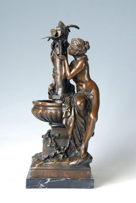 Other Glorious Rooster Vienna Bronze Um 1920 Vienna Marked Attractive Designs;