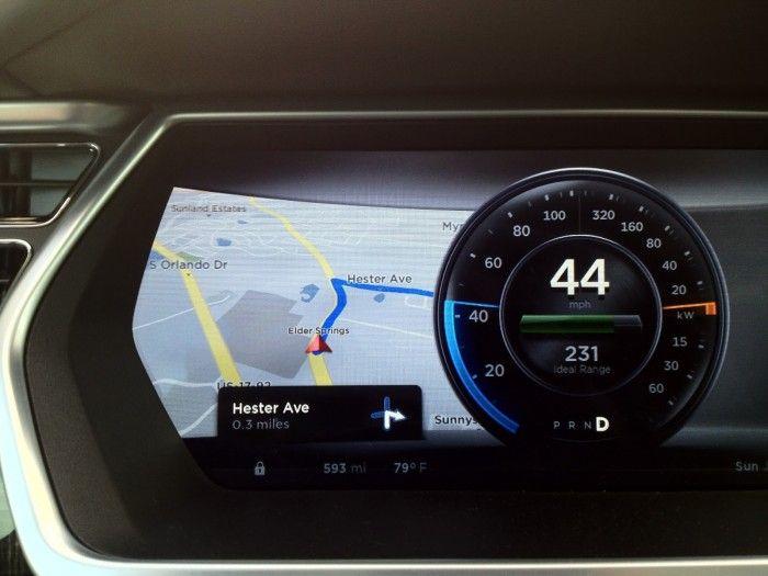 2013 Tesla Model S Dashboard Display Best Of Fontsinuse
