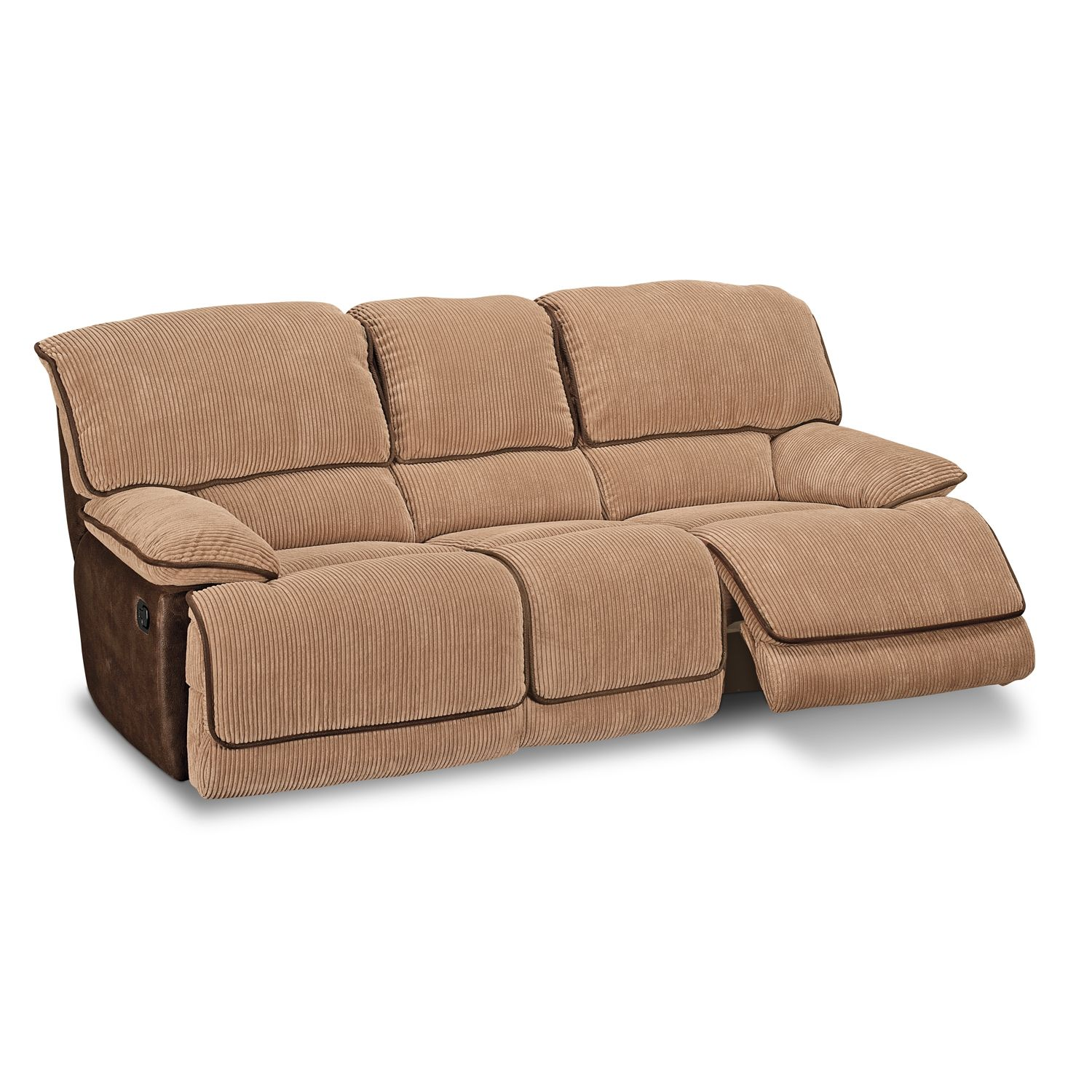 Buy lineVCF Coronado Leather Power Reclining Sofa Value City