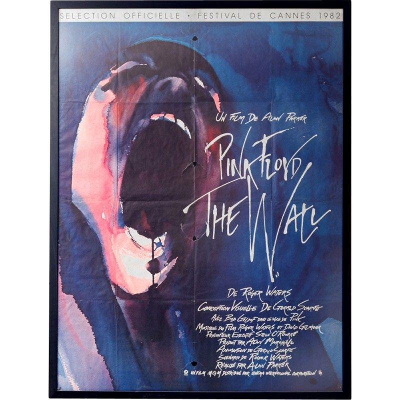 Affiche du film pink floyd the wall 1982 design