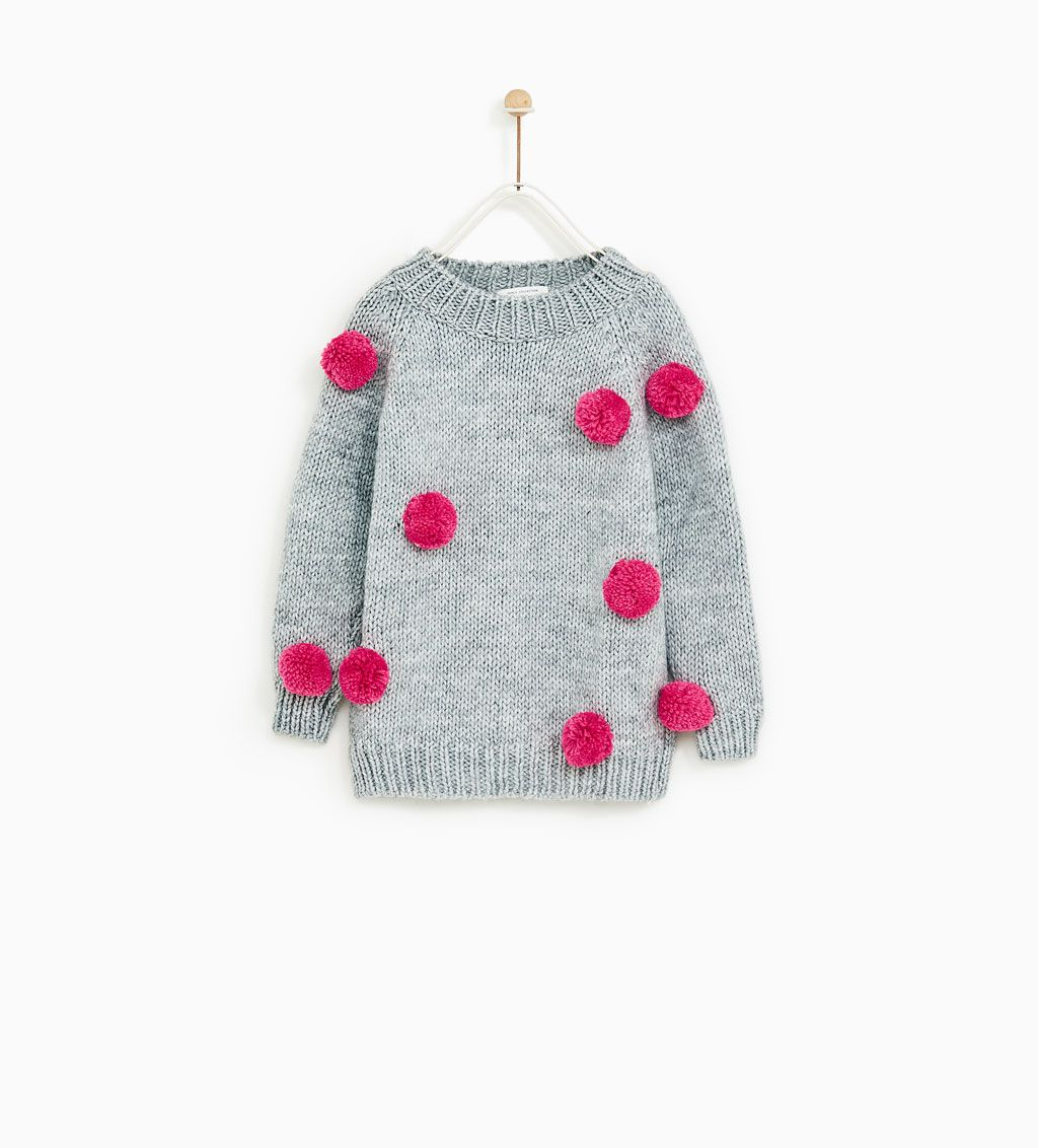 e4987262ef35 POMPOM SWEATER - Available in more colours