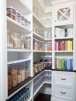 These Pantries Will Make A Type A's Day  Kitchen Pantries Food Stunning Zen Type Kitchen Design Design Decoration