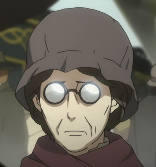Anime old lady