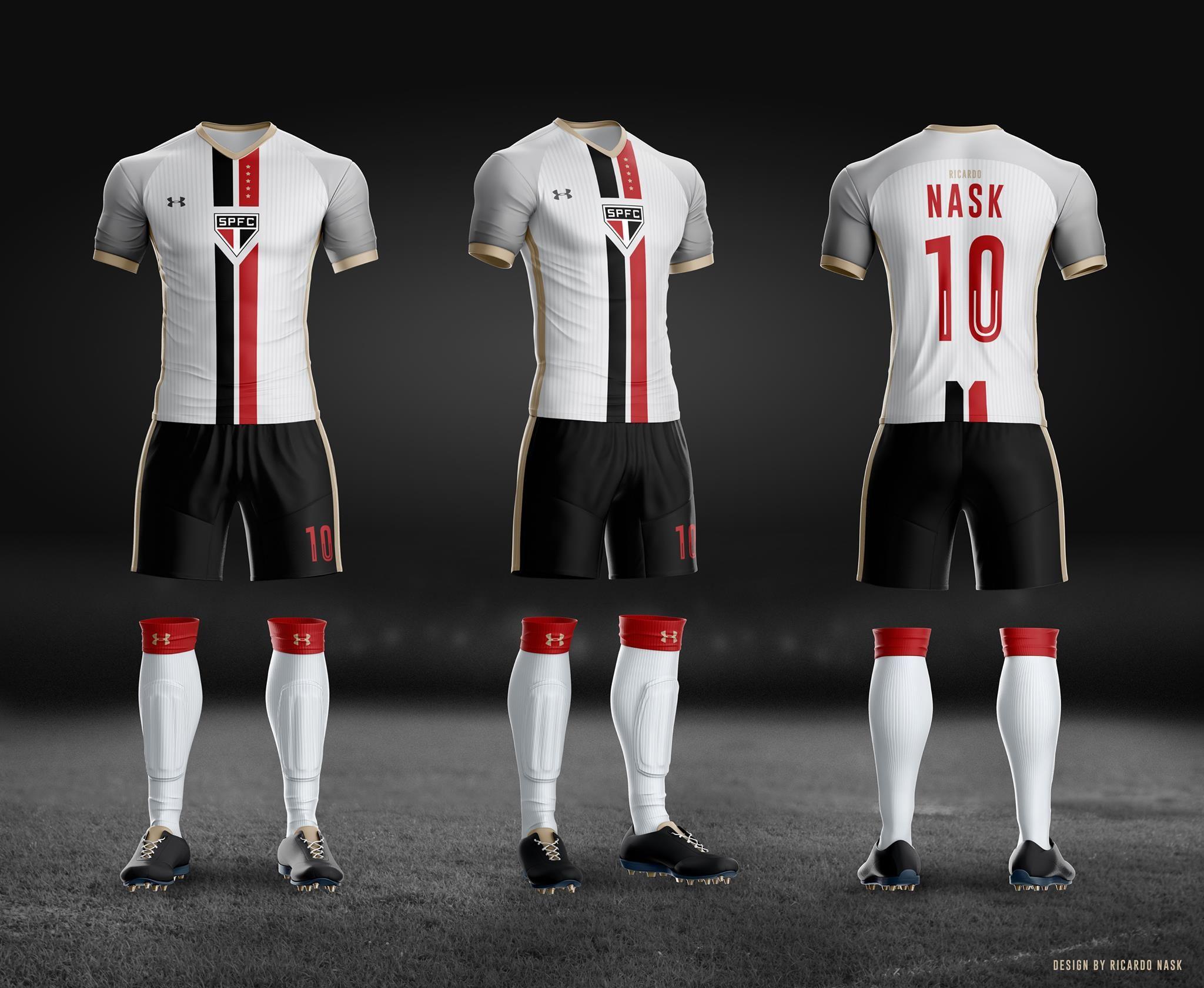 1f3dc84f7e Com certeza o São Paulo FC é uma das equipes que mais recebemos trabalhos  aqui no Leitor MDF. Desta vez o designer Ricardo Nask manda seu projeto com  ...
