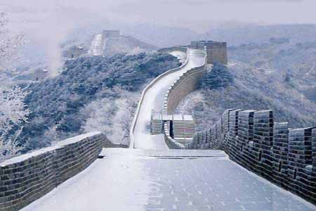 Great Walls in snow