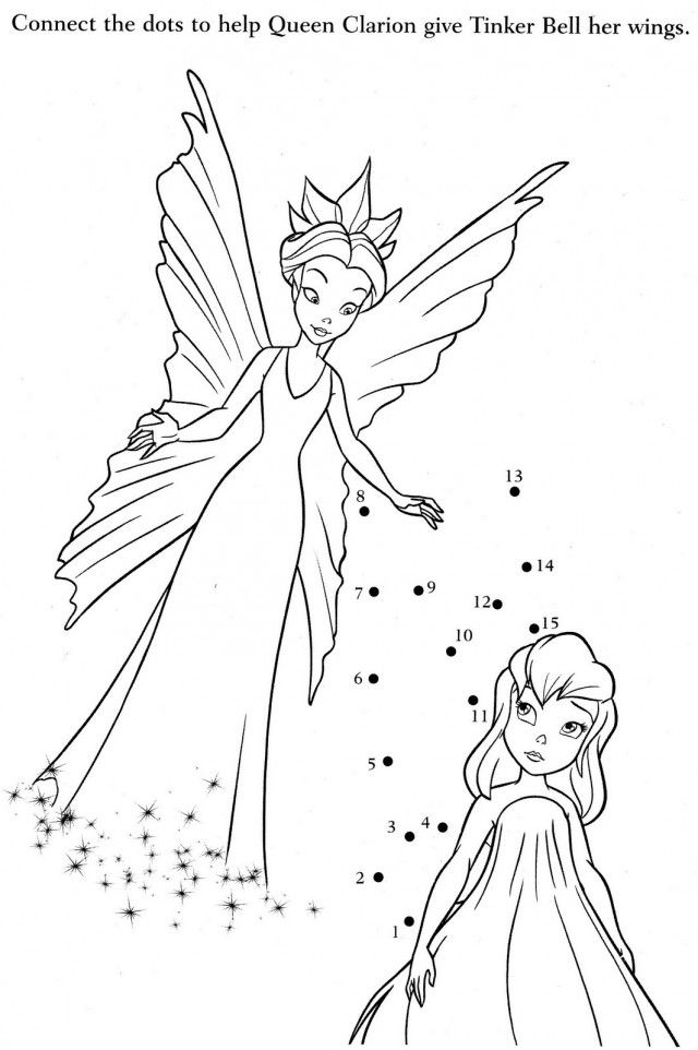 Cartoons Coloring Pages Of Tinkerbell And Her Fairy Friends 282430 ...