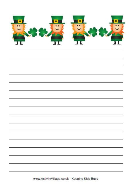 St. Patrick's Day Writing: If I Caught a Leprechaun...
