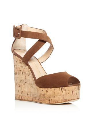 2a804a28351 GIUSEPPE ZANOTTI Roz Crisscross Platform Wedge Sandals.  giuseppezanotti   shoes  sandals