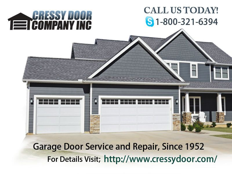 Cressy Door Company Has Over 25 000 Square Feet Of Inventory Warehoused In Two Puget Sound Locations To Solve Your Garage Doors Doors Residential Garage Doors