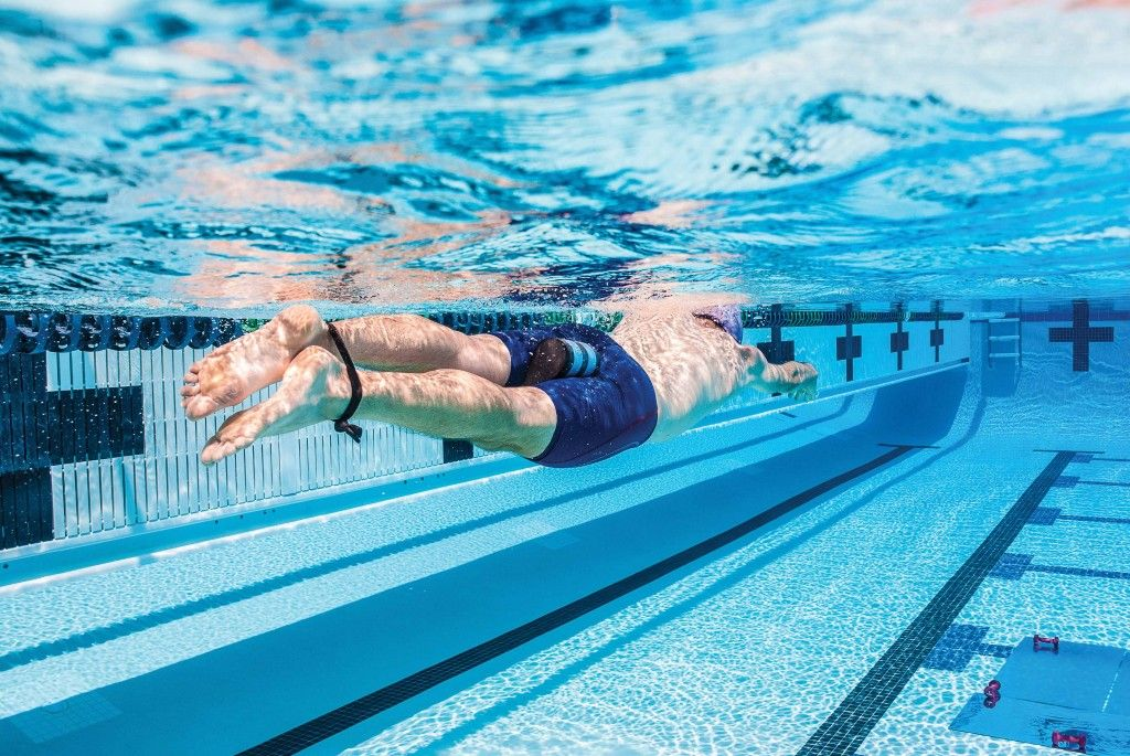 Image result for using band for swimming