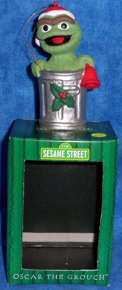 Gibson Sesame Street OSCAR THE GROUCH Christmas Ornament by Kurt ...