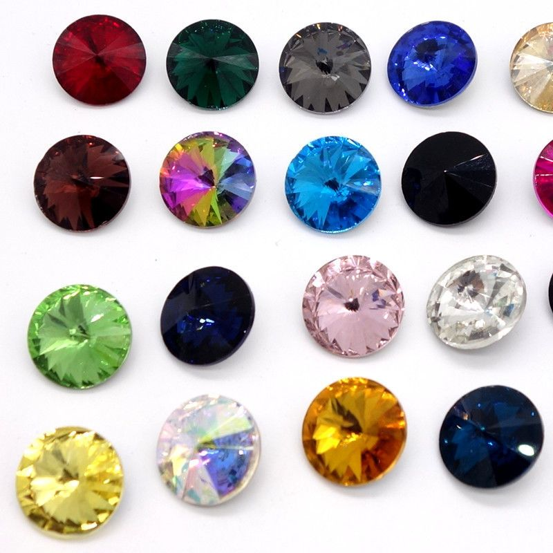 XILION ELEMENTS Crystal Rivoli glass Beads DIY 10mm12mm14mm16mm18mm Wholesale