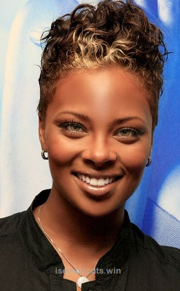 Nice Short Natural Hairstyles For Black Women With Round Faces Short The Post Short Natural Hairstyles Natural Hair Styles Short Hair Styles Hair Styles