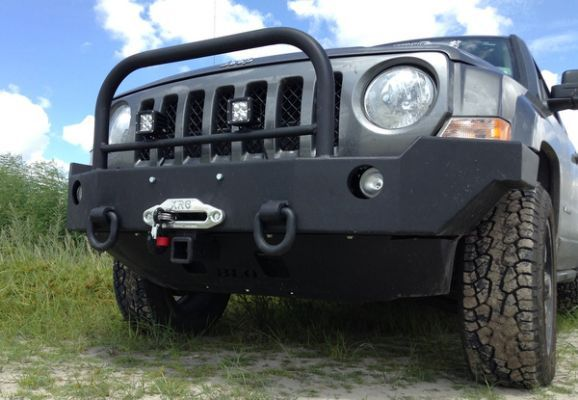 Front Winch Bumper Jeep Patriot More Jeep Patriot Lifted Jeep Jeep Patriot Accessories