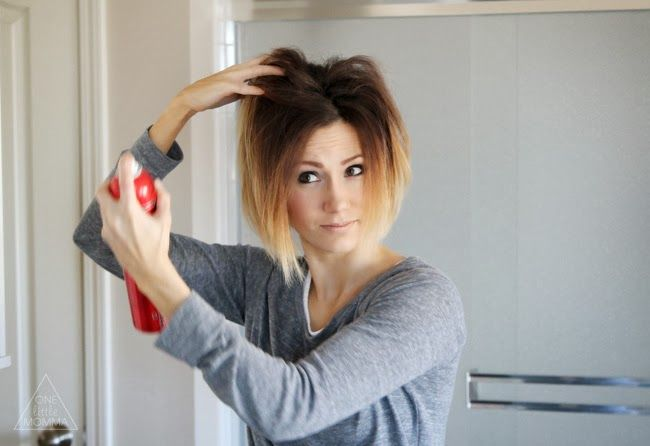 ONE little MOMMA: Everyday Styling for a Short Angled Bob - Tutorial