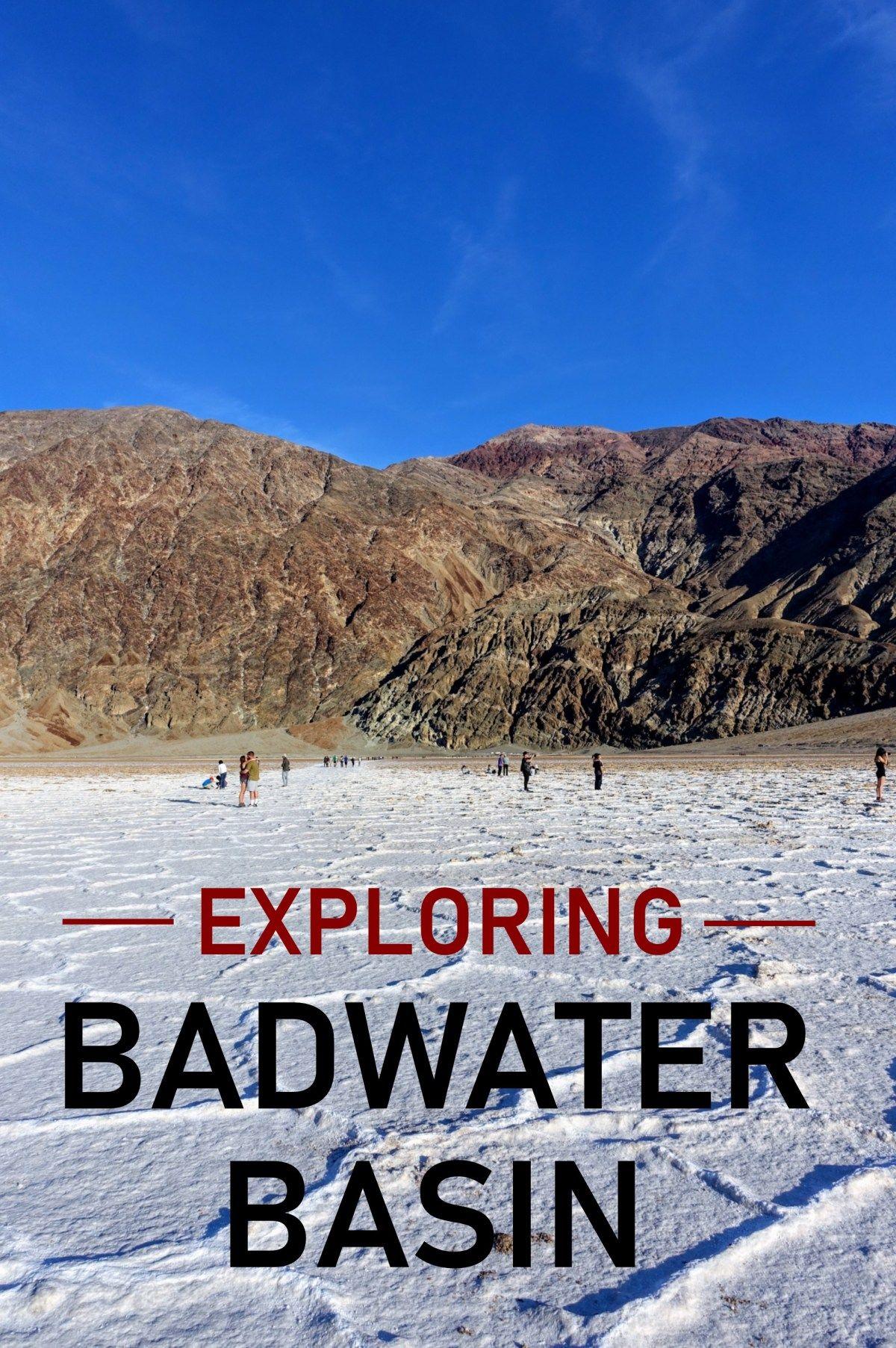 Exploring Badwater Basin Jack And Gab Explore Badwaterbasin Deathvalley Deathvalleyn Southern California Getaways Road Trip Fun Death Valley National Park