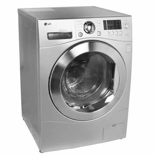 Lg 2 3 Cu Ft Capacity Ventless Washer Dryer Combo Silver Ventless Washer Dryer Compact Washer And Dryer Clothes Washing Machine