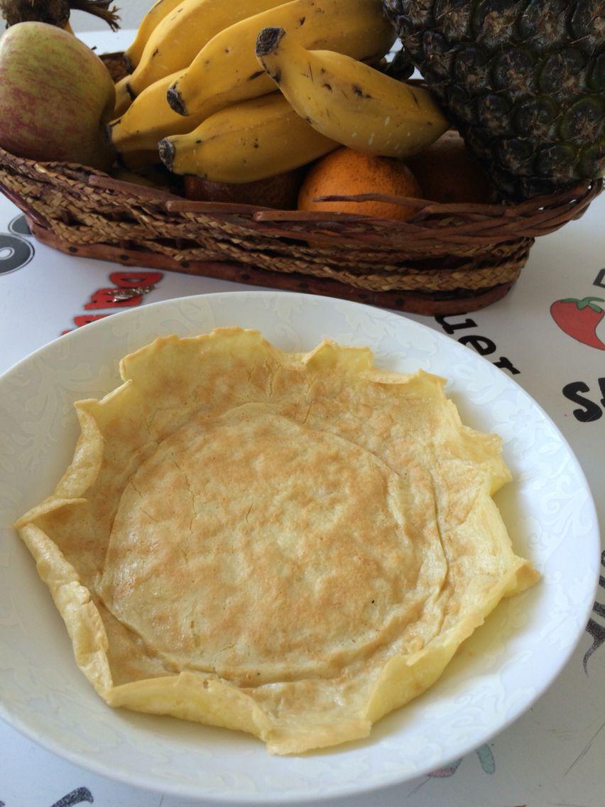 Pao De Queijo De Frigideira Ingredientes Goma De Tapioca