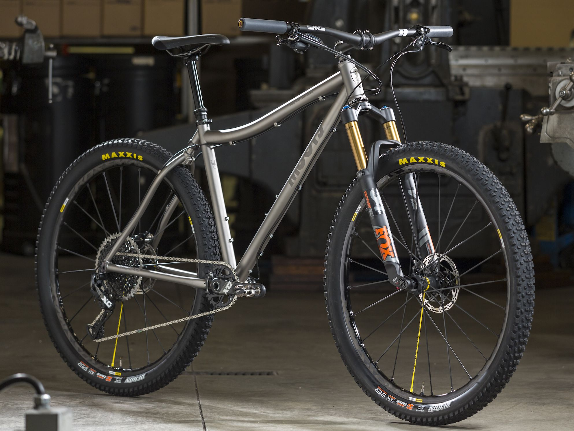 Soft Tail Ybb 29 Inch Wheels Moots Titanium Xc Titanium Bikes