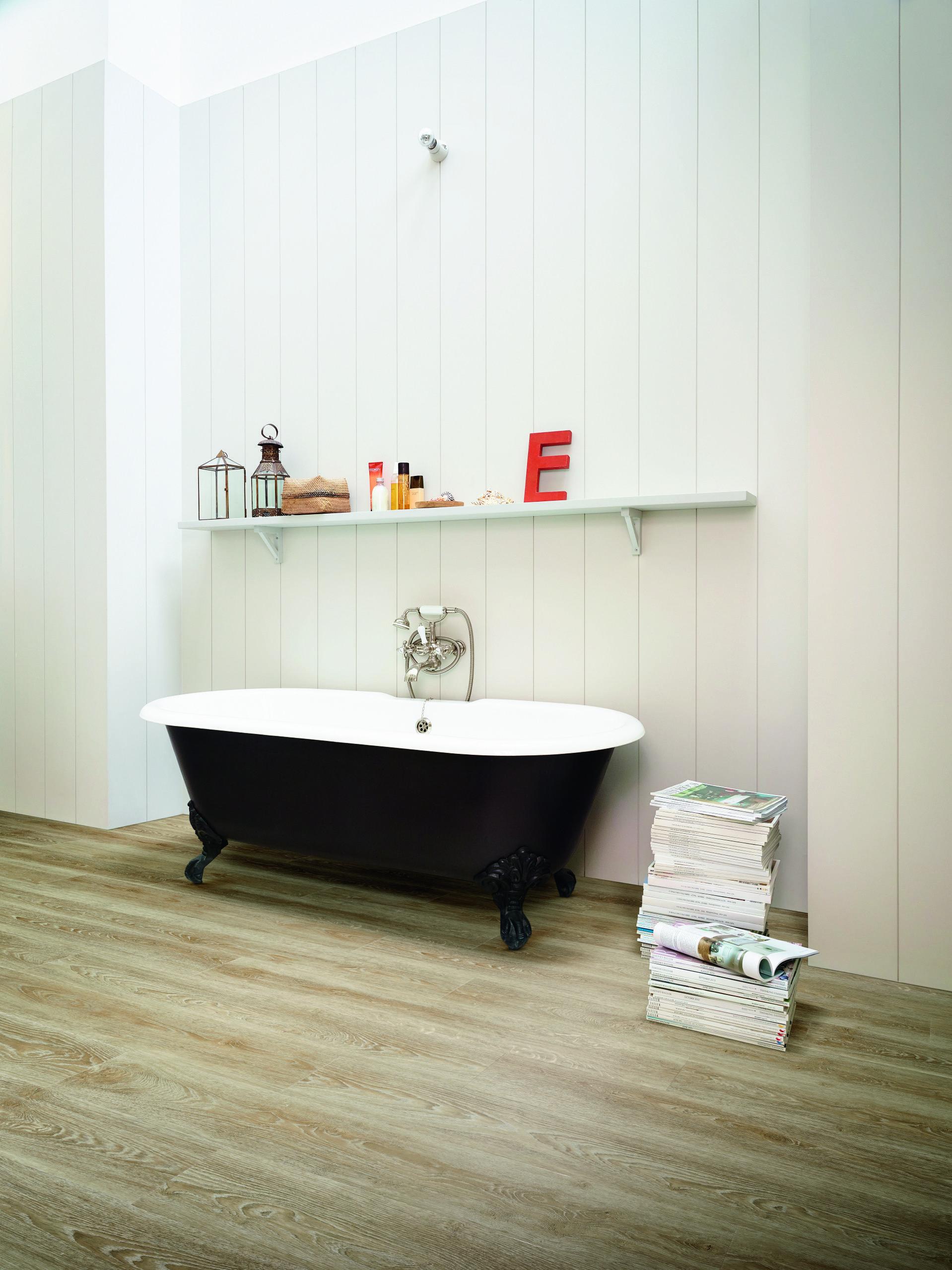 PVC badkamer, PVC vloer, PVC vloer badkamer, vloer inspiratie ...