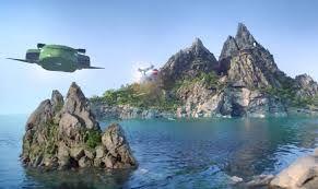 The Thunderbirds ( island base )