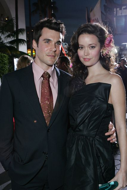 Sean Maher and Summer Glau at premier of Serenity