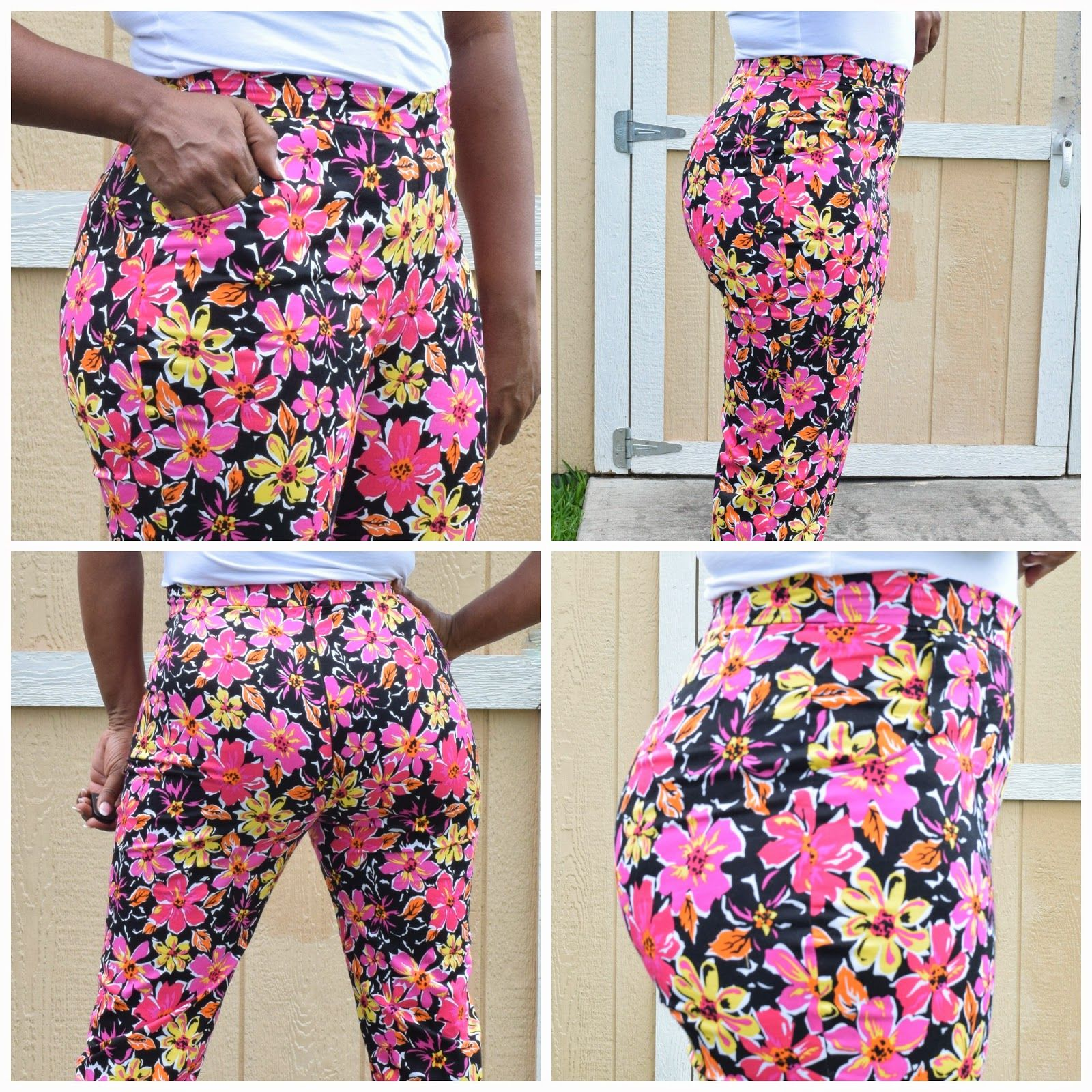 Contest Entry Butterick 5895 Crop Pants Review Cropped