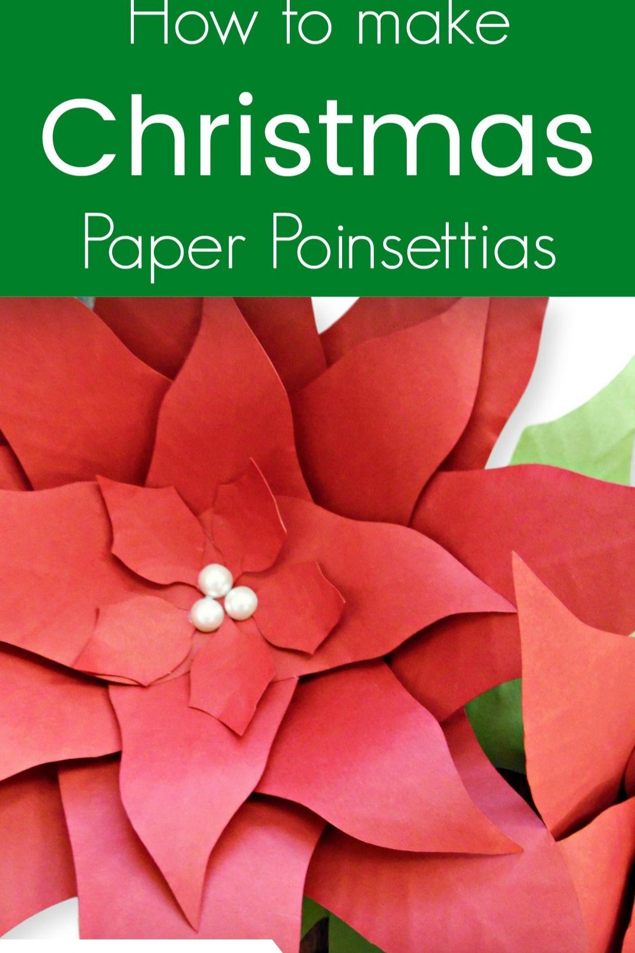 Poinsettia Flower Template Flower template, Poinsettia