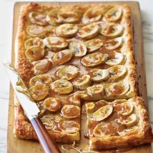 Burnt-Caramel Rum-Banana Tart - Recipes | American Family
