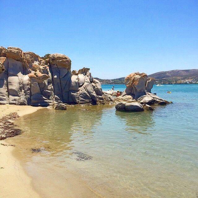 Paros Beaches: Stunning Kolymbithres Beach , At Paros Island (Πάρος) ☀️