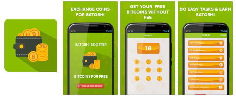 Satoshi Booster - Free Bitcoins - Earn Bitcoin From Android