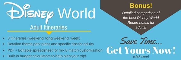 Top 5 Things to do at Disney World for Adults Disney trips