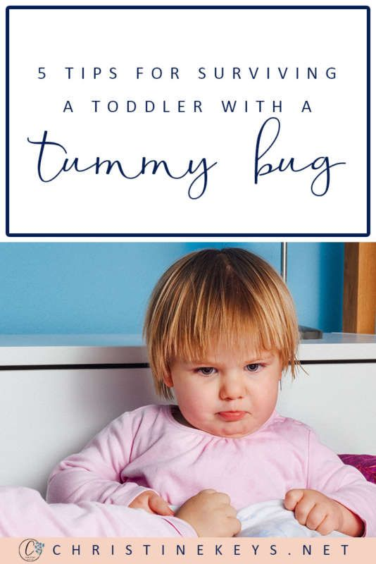 How To Survive A Toddler With A Tummy Bug | Sick toddler ...
