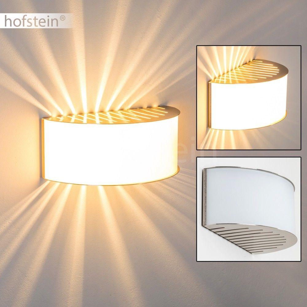 details zu design wandleuchte flur leuchte k chen schlaf wohn zimmer lampen up and down matt. Black Bedroom Furniture Sets. Home Design Ideas