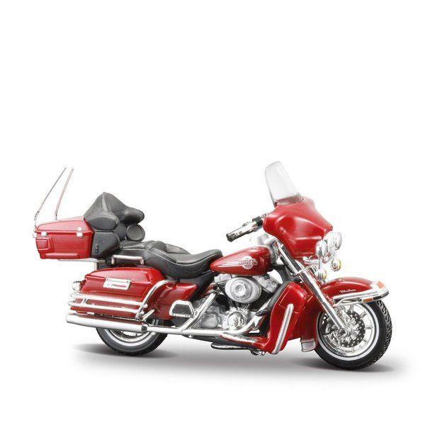 Motorrad 1:18 Harley Davidson FLHTCHI Ultra Classic Electra Glide 2005 Maisto