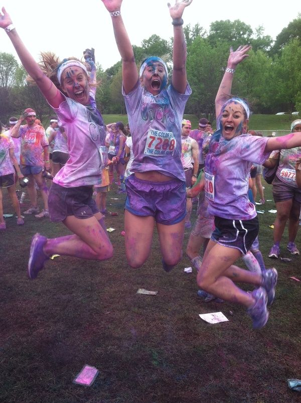 Everyone HAS to do the Color Run one day!!! kamclark