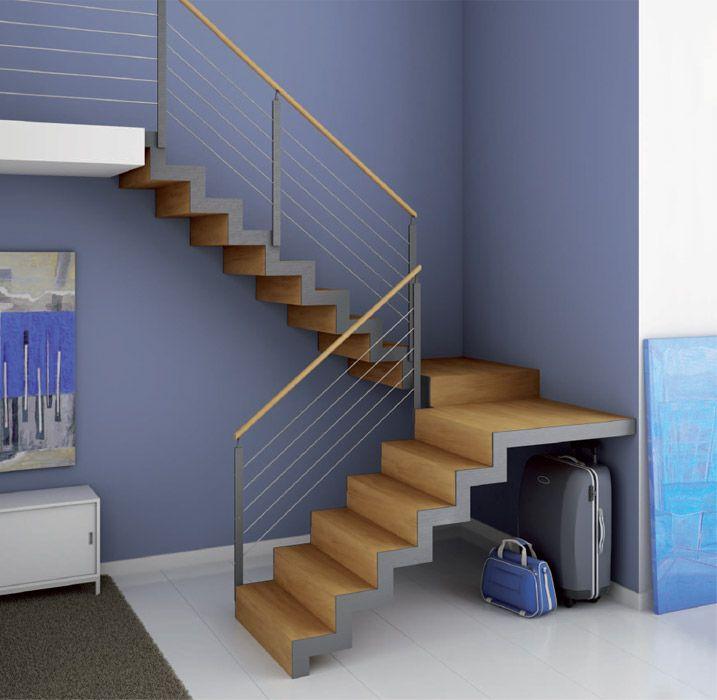 Resultado de imagen para escaleras metalicas modernas for Escaleras interiores modernas
