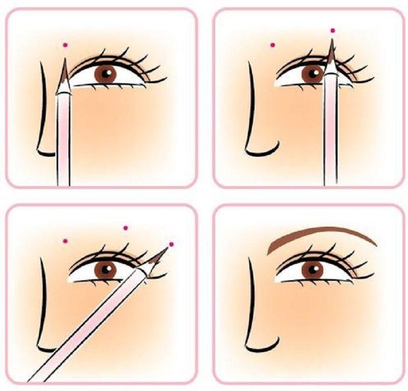 أسهل طريقة لتعليم رسم الحواجب للمبتدئات جربيها مجلة الجميلة Eyebrows Sketch Beauty Skin Care Routine Beauty Skin