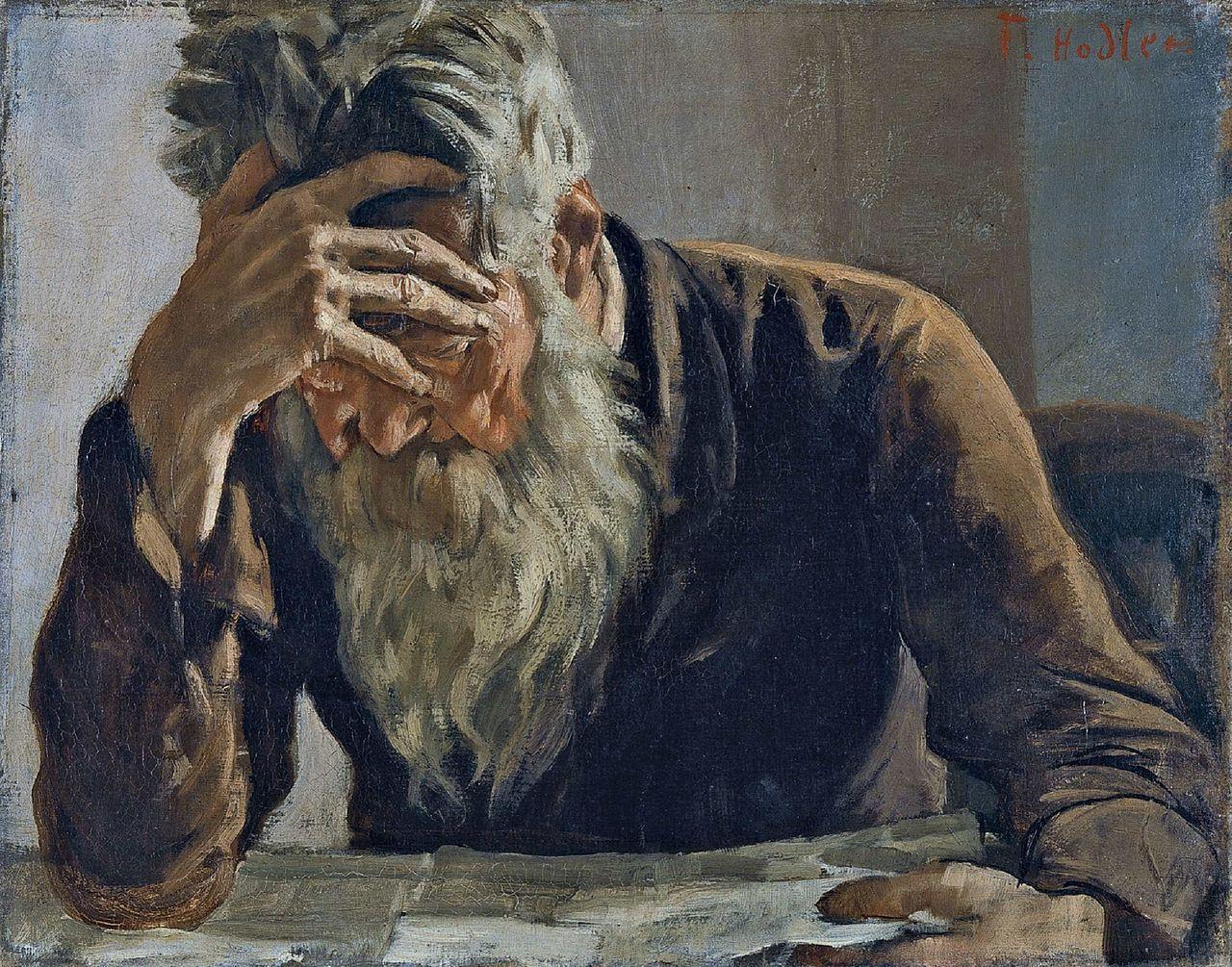 Ferdinand Hodler: The Reader, 1885. de 2019 | Pinturas clássicas ...
