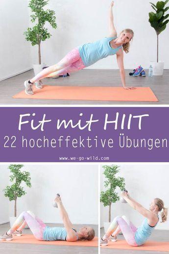 HIIT Trainingsplan Frau #besten #Die #Fitness Training for beginners #Fitness Training plan #Fitness...