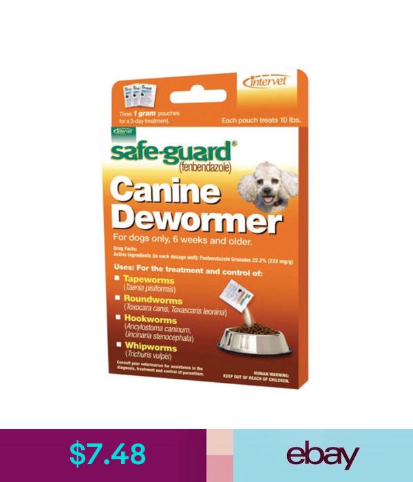 Dog Puppy Animal Wormer Fenbendazole Broad Spectrum Pet