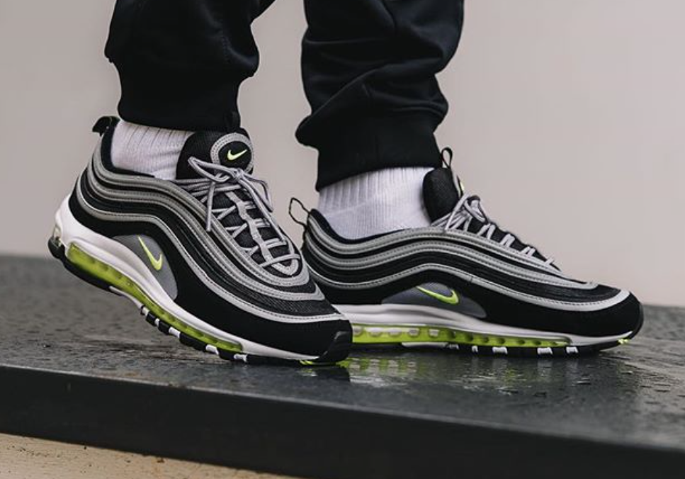 100% authentic ee06c 3a1b1 The Nike Air Max 97 Black Volt Arrives Stateside Later This Week