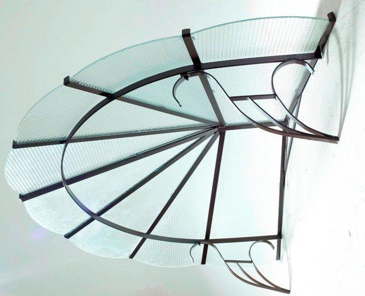 marquise auvent acier vivienne roy en 2019 auvent marquise vordach hauseingang vordach et. Black Bedroom Furniture Sets. Home Design Ideas