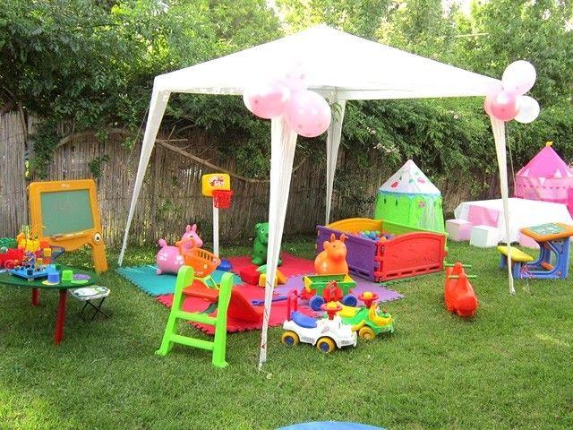 Decoracion de cumplea os al aire libre buscar con google - Juegos de decorar jardines ...