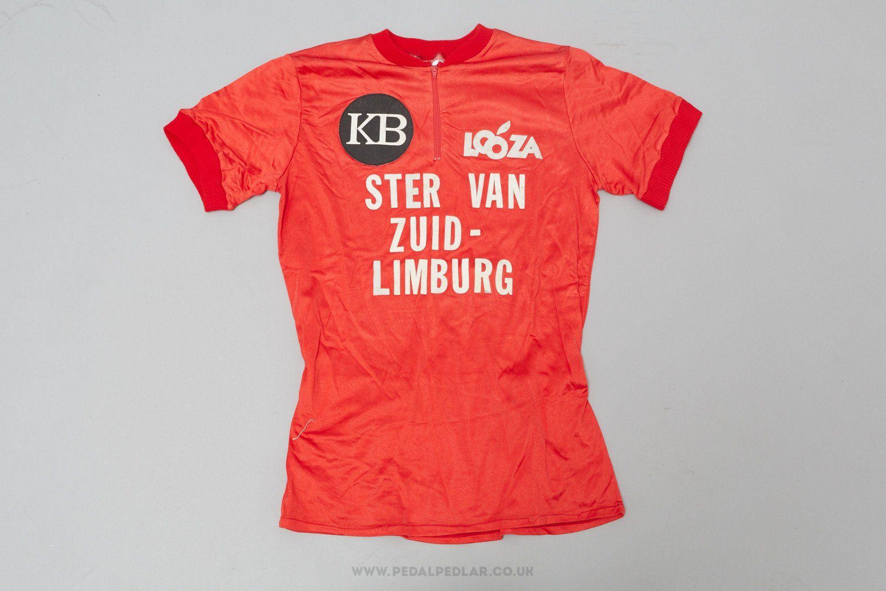 44680c3dc KB Looza Ster Van - Vintage Woollen Style Cycling Jersey - Pedal Pedlar