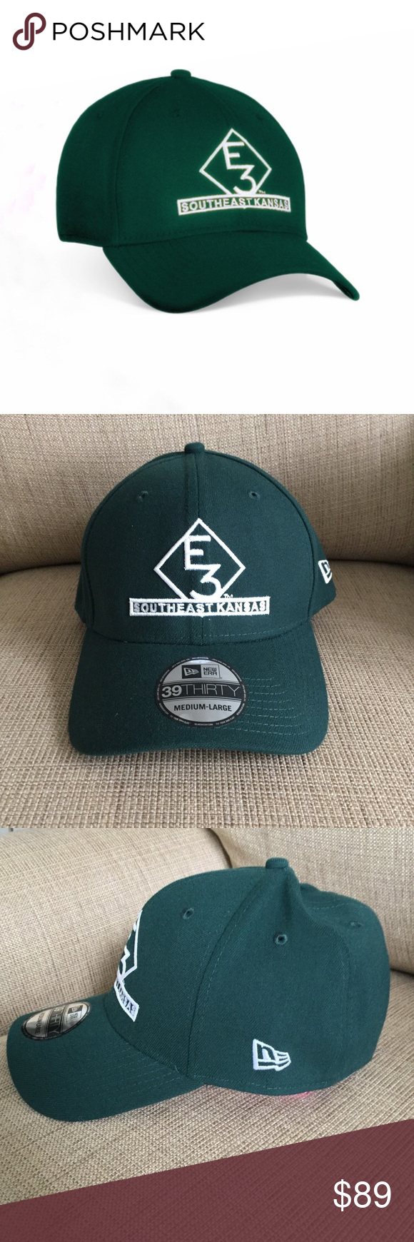 74c10716be30e E3 SOUTHEAST KANSAS NEW ERA HAT Made popular by Luke Bryan. Green color is  currently sold out. New Era Accessories Hats