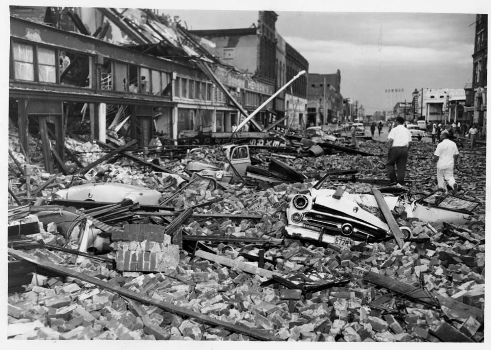 Waco, Texas Tornado, 1953